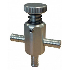 Forge Turbo Pressure Faucet to place in the Underhood Area Silver