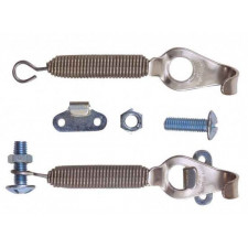 Fastenings Capot with Stainless steel Spring (Pair)