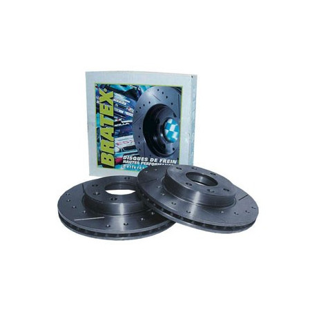 Disque de Frein Bratex Groupe A Avant Ford Sierra Cosworth 4 Roues Motrices 278/24