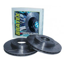 Disque de Frein Bratex Groupe A Avant Ford Sierra Cosworth 2 Roues Motrices 283/24