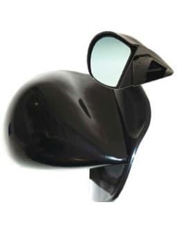 Rétroviseur Obus Noir Manuel (X2)