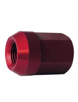 Conical Nut 12x125 Alu 7075 Red