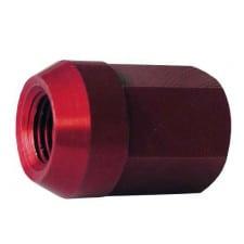Dado Conica 12x150 Alu 7075 Rosso
