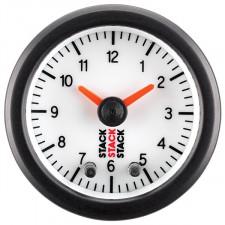 Horloge Stack Analogique Fond Blanc Mano