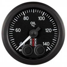 Stack Oil Temperature Gauge 40-140°C 10x100 Pro Control