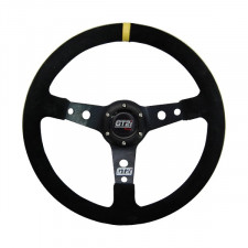 Cévennes GT2i Steering Wheel Black / Black Spoke