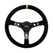 GT2i Race 75 Black Steering Wheel / Black Spoke