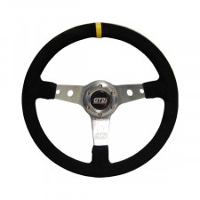 GT2i Cévennes Steering Wheel Black / Silver Spoke