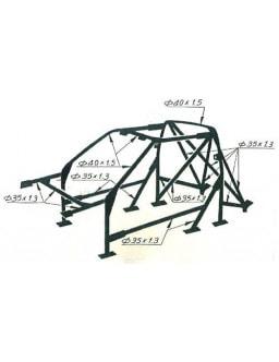 Structure Multipoints Arceau OMP Peugeot 309 GTI