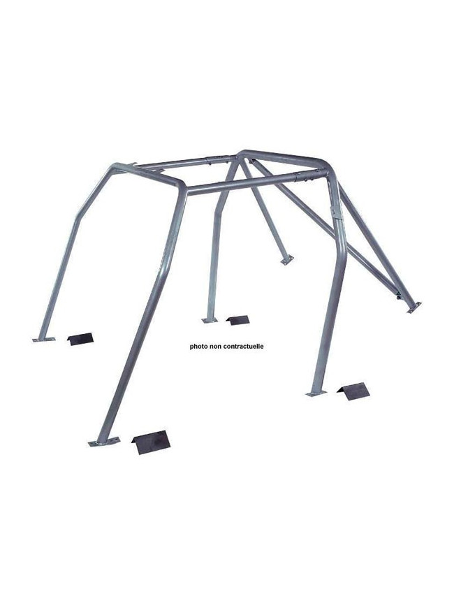Structure Multipoints Arceau OMP Renault R5 GT Turbo 9 Points