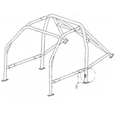 Structure Multipoints Arceau OMP Fiat Seicento Sporting
