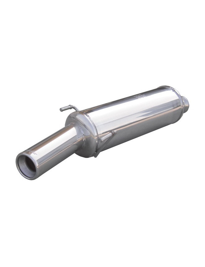 Inoxcar Stainless Steel Rear Exhaust / Muffler Peugeot 306 2.0 Hdi / 1.9 TD 80mm