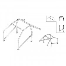 Sparco Roll Cage Nissan 200SX S14