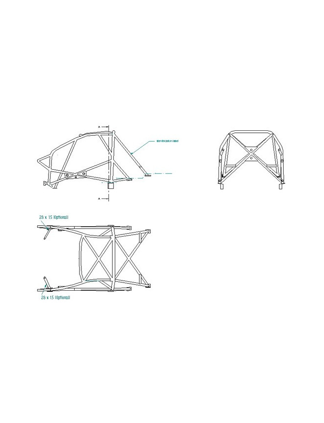 Sparco Roll Cage Peugeot 206 Weld-in