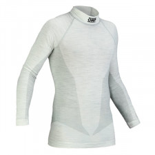 T-Shirt Manches Longues FIA OMP One Nomex Blanc