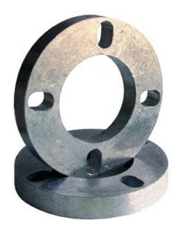 Bratex Universal Wheel Spacers 19mm 4 Holes (x2)