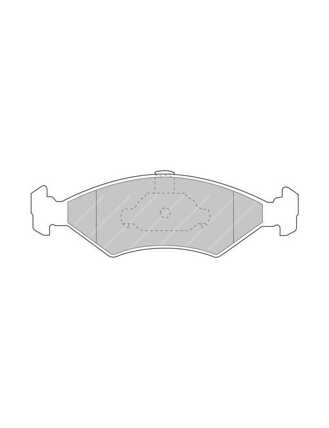 Ferodo DS 3000 brake pads front for FORD Courier 1.3 50 01.96 - 01.00 caliper ATE