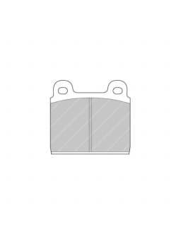 Ferodo DS 3000 brake pads front for ALFA ROMEO 1750 1.7 GT 01.68 - 05.72 caliper ATE