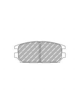 Plaquettes de frein Ferodo DS3000 arrière pour MITSUBISHI Lancer 2.0 Evo IV 01.96 - 12.96 étrier AKEBONO