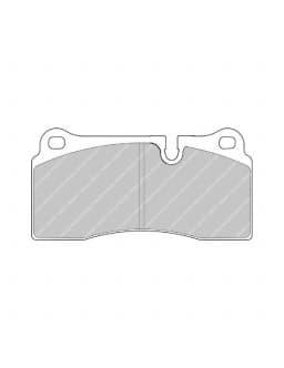 Plaquettes de frein Ferodo DS3000 arrière pour AUDI R8 4.2 FSI quattro 04.07 - 09.10 étrier BREMBO