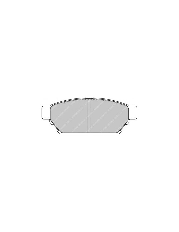 Ferodo DS 3000 brake pads rear for MITSUBISHI Lancer 2.0 Evo III 01.95 - 12.95 caliper AKEBONO