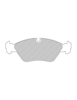 Ferodo DS 3000 brake pads front for BMW M3 1.8 16V M3 01.86 - 12.93 caliper ATE