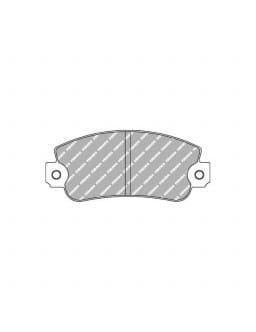 Ferodo DS 3000 brake pads front for AUTOBIANCHI Y10 1.0 01.90 - 12.96 caliper BENDIX