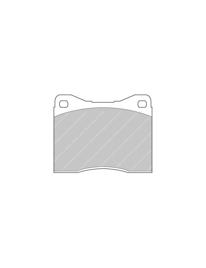 Ferodo DS 3000 brake pads front for BMW 2500 2500 CS, Automatic 01.68 - 12.76 caliper ATE