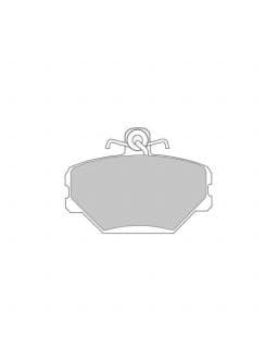 Pastiglie Freno Ferodo DS3000 Prima Fiat Tipo / Tempra