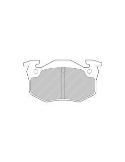 Plaquettes de frein Ferodo DS2500 arrière pour CITROEN Saxo 1.6 16V 02.96 - 04.02 étrier BENDIX