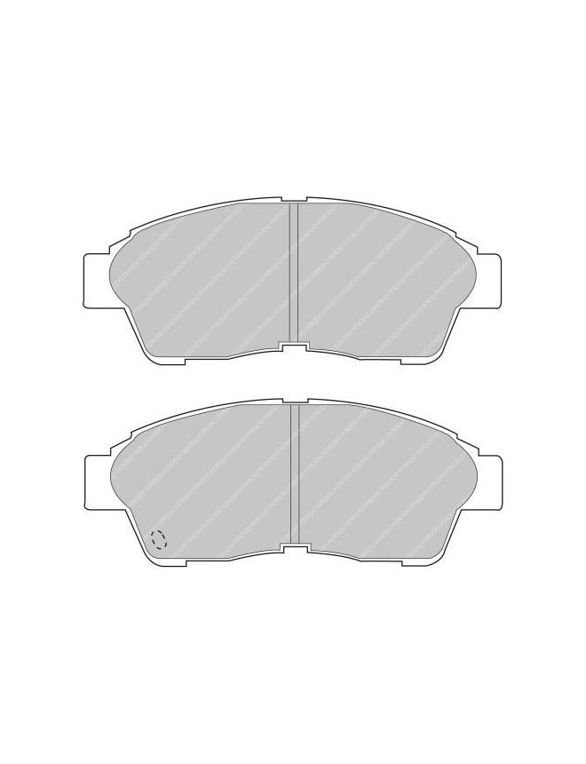 Ferodo DS 2500 brake pads front for TOYOTA Camry 2.0 10.91 - 12.92 caliper AKEBONO