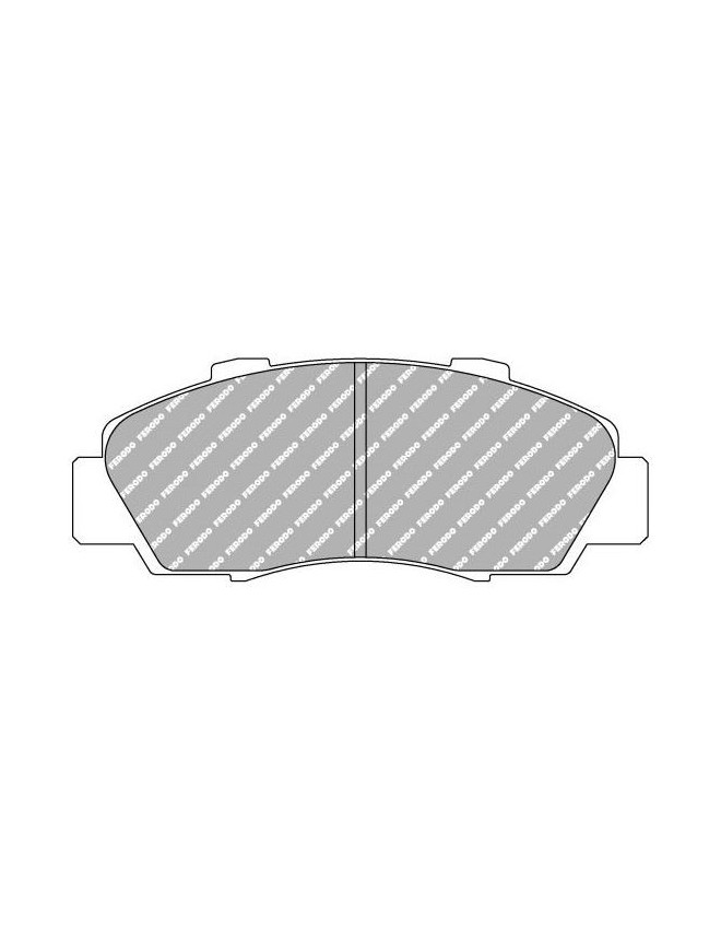 Ferodo DS 3000 brake pads front for ACURA CL 6 cylinder 3.0 L 01.97 - 12.99 caliper AKEBONO