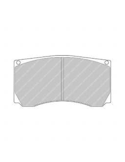 Plaquettes de Frein Ferodo DS3000 Etrier Alcon PNC4476X535
