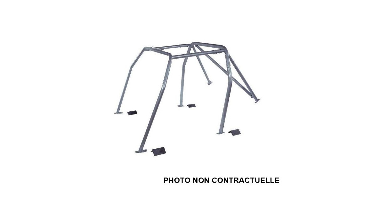 omp rollcage citro u00ebn ds3 after 2010 fe45 weld-in
