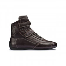 Bottines FIA Sparco TOP SH-5 Cuir Marron ignifugées