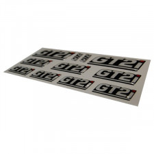 GT2i Bulging Stickers Plate