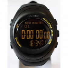 Fastime RW3 Stopwatch / Watch for Co-driver Black Strap / Black Screen