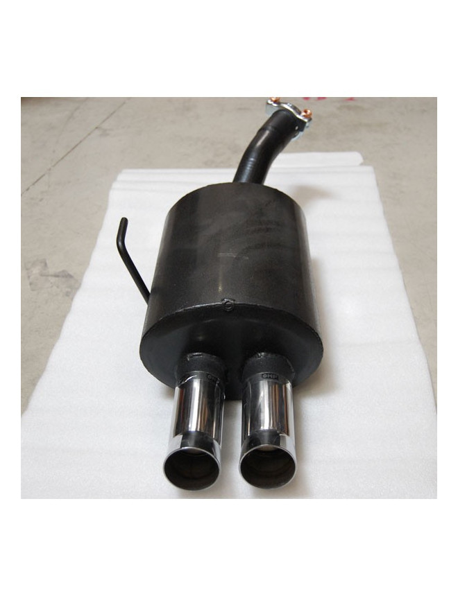 Rear Exhaust / Muffler Renault Clio RS After 2005 2 Outlets DTM