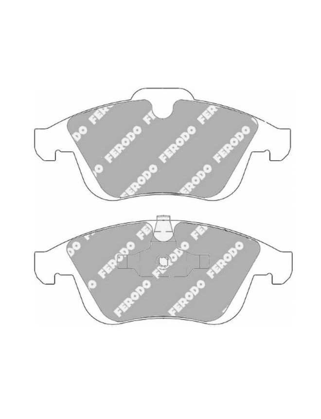 Ferodo DS 2500 brake pads front for RENAULT Clio 1.6 RS 03.13 -  caliper ATE