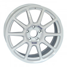 Jante BRAID FullRace R 7X17 5X114.3 D47 A66.1 Blanche Renault Clio 4 IV RS R3T - image #