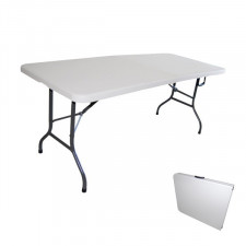 Table pliante 183x78cm Métal/Nylon