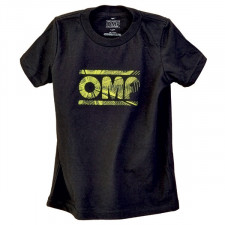 T-Shirt OMP Black Enfant