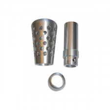 Silver Alu F2000 Gear Knob 90mm