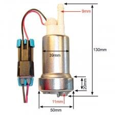 Kit Pompa Immersa WALBRO Mini 3b: 420L/ora Massimo 8.3b: 516L/ora