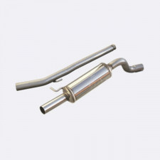 Inoxcar Stainless Steel Group N Pipe Outer Diameter 63.5mm Renault Twingo RS 1.6 16S