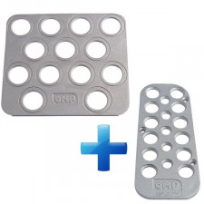 Pack Footrest in Cast Alu Driver Co-driver OMP