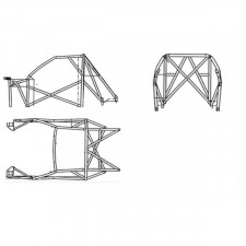 Structure Multipoints Sparco Peugeot 106 Maxi