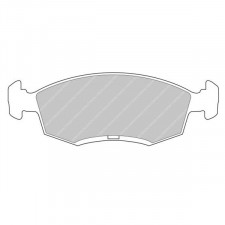 CL Brakes RC6 Front Brake Pads Ford Escort RS2000