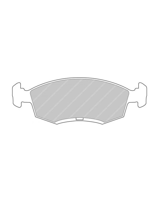 Brake pads CL Brakes RC6 front Ford Escort RS2000