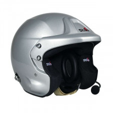 Casque Stilo TROPHY DES Plus clips Hans Rally SA15